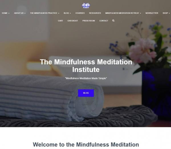 The Mindfulness Meditation Institute, Charles A. Francis, meditation teacher